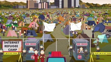 south park internet refugee camp